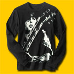 Jimmy Page Classic Rock Long Sleeve T-Shirt