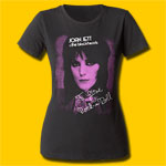 Joan Jett Rock 'n' Roll Girls Crew T-Shirt