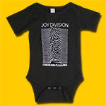 Joy Division Unknown Pleasures Black Onesie