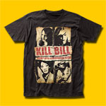 Kill Bill Assassination Squad Movie T-Shirt