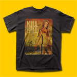 Kill Bill Retro Poster Vol. 1 Movie T-Shirt