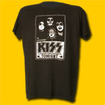 Kiss In Concert Classic T-Shirt