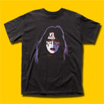 KISS Ace Frehley Black T-Shirt