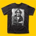 John Lennon NYC Jacket Black T-Shirt