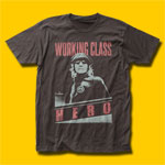 John Lennon Working Class Hero Grey T-Shirt