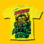 Mars Attacks Big Yellow Martian Movie T-Shirt