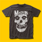 Misfits Distressed Skull T-Shirt