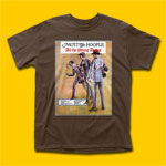 Mott the Hoople All the Young Dudes Brown T-Shirt