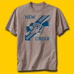 New Order Everything's Gone Green Fitted Jersey T-Shirt