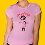 New York Dolls Cowgirl Girls Jersey Tee