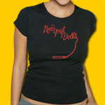 New York Dolls Logo Girls Jersey Tee