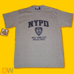 NYPD Gray T-Shirt