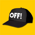OFF! Logo Black Trucker Cap