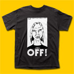 OFF! First Four EPs Black T-Shirt