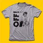 OFF! We're a Power Trio Now Heather Grey T-Shirt