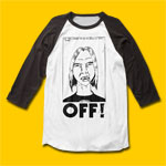 OFF! First Four EPs 3/4 Sleeve T-Shirt
