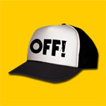 OFF! Logo White Trucker Cap