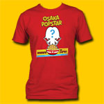 Osaka Popstar Where's The Cap'n? Red T-Shirt