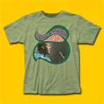 Otis Redding Sittin' On Heather Green T-Shirt