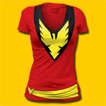 Phoenix Girls Deep-V T-Shirt