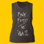 Pink Floyd The Wall Girls Sleeveless Muscle Tank