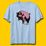 Pink Floyd Animals Blue T-Shirt
