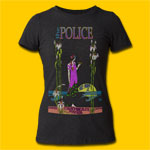The Police Commonwealth Stadium Girls Black T-Shirt