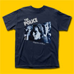 The Police Reggatta De Blanc Navy T-Shirt