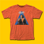 The Police Zenyatta Mondatta Heather Orange T-Shirt