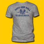 Ramones Class of 1979 Heather Grey Punk Rock T-shirt