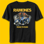 Ramones  Road to Ruin Punk Rock T-shirt