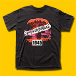 Social Distortion Album 1945 Black T-Shirt
