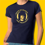 Keith Richards For President Girl's T-Shirt