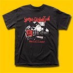 Social Distortion Mainliner Album Black T-Shirt