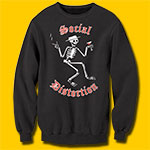 Social Distortion Skelly Black Sweatshirt