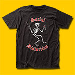 Social Distortion Skelly Logo Black T-Shirt