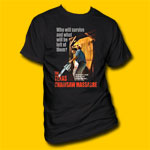 Texas Chainsaw Massacre Black T-Shirt