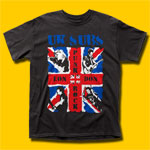 U.K. Subs London Punk Rock Black T-Shirt