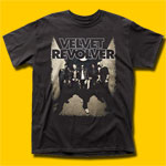 Velvet Revolver Band Photo Black T-Shirt