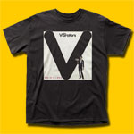 The Vibrators Pure Mania Black T-Shirt