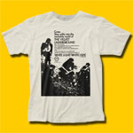Velvet Underground Come, Step Softly Vintage White T-Shirt