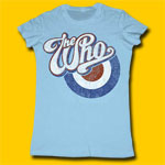 The Who Logo Juniors Extra Lightweight Tee
