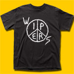 Wipers Logo Black T-Shirt