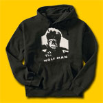 The Wolf Man Classic Movie Hooded Sweatshirt
