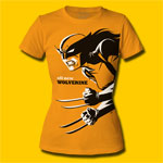 Wolverine Michael Cho Design Girls T-Shirt