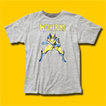 Wolverine Heather Grey T-Shirt