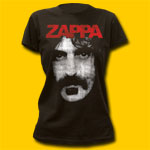 Frank Zappa Portret Coal Girls T-Shirt