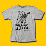 Frank Zappa Waka Jawaka Heather Grey T-Shirt