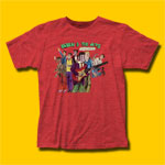 Frank Zappa Ruben & The Jets Heather Red T-Shirt