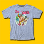 Frank Zappa The Man From Utopia Heather Blue T-Shirt